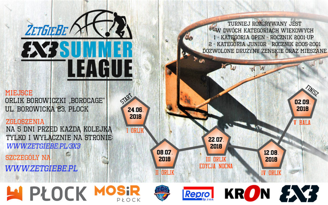ZetGieBe 3X3 SUMMER LEAGUE 2018